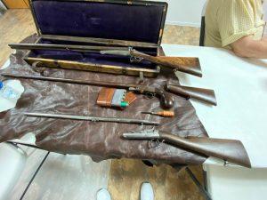 Laforcheaux Pin-fire shotguns and ammo
