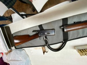 Win. 1886 butt stock and fore-end